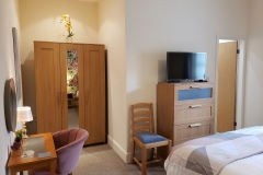 Apartment 9 Holiday Rental Bedroom 1 with Ensuite